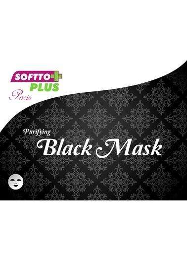 Softto Plus Siyah Maske 2 Adet Renksiz
